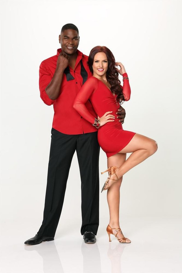 Dancing With The Stars 2013: Keyshawn Johnson and Sharna Burgess