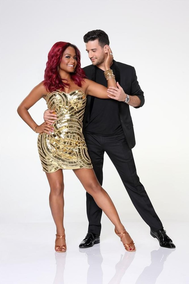 Dancing With The Stars 2013: Christina Milian and Mark Ballas