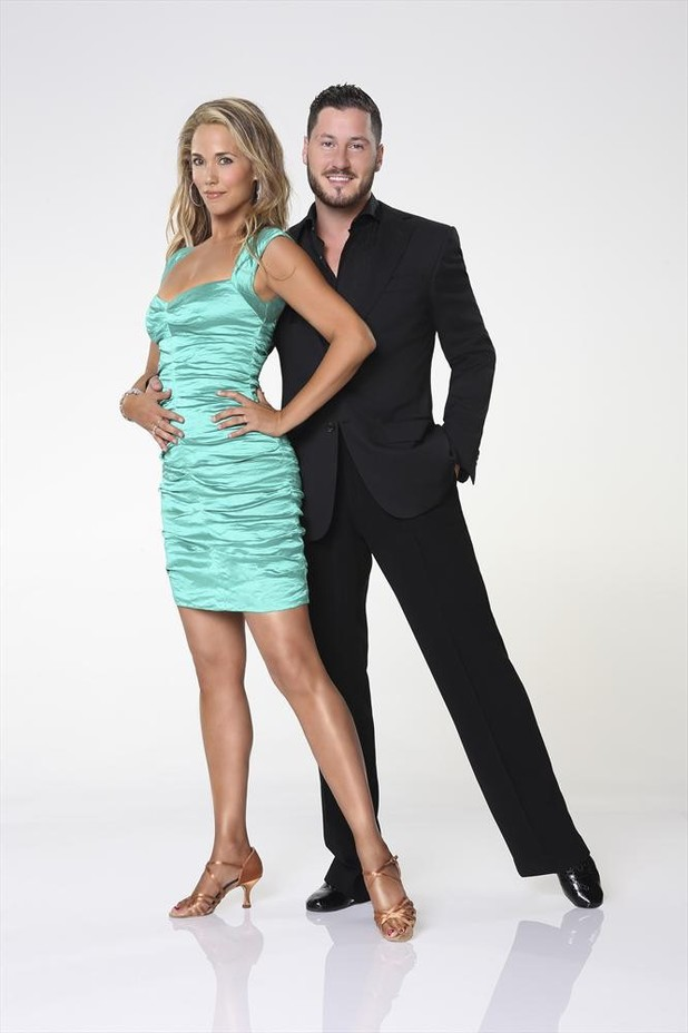 Dancing With The Stars 2013: Elizabeth Berkley and Val Chmerkovskiy