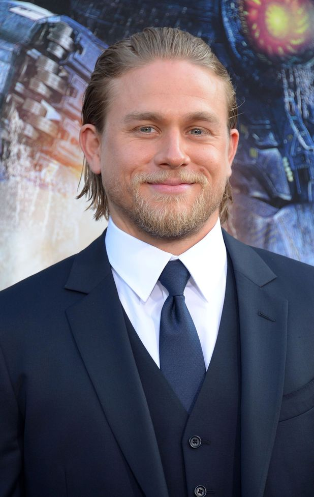 Charlie Hunnam at the Pacific Rim Premiere.