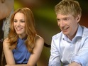 Rachel McAdams and Domhnall Gleeson discuss About Time.