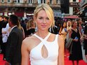 Naomi Watts is white hot on the red carpet in London's Leicester Square.