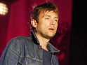 The Blur frontman releases a clip announcing news of the record.