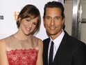 Actress talks about Matthew McConaughey's career change from rom-coms to drama.