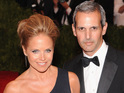 The talk show host weds her financier partner after a ten-month engagement.