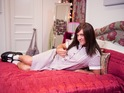 "The US popstar chats to Ja'mie about lesbians, boys and being ""quiche""."