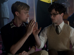 Dane DeHaan and Daniel Radcliffe in 'Kill Your Darlings'