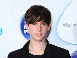 James Blake at the Barclaycard Mercury Prize Nominations 2013.