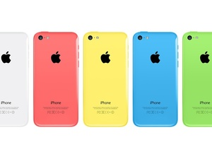 Apple iPhone 5C colours.