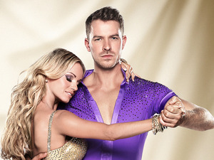 Ashley Taylor Dawson with 'Strictly Come Dancing' partner Ola Jordan.
