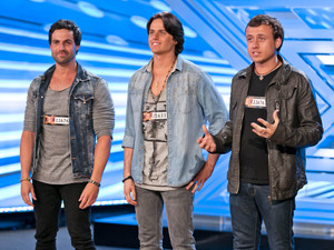 Next of Kin performing on The X Factor 2013.