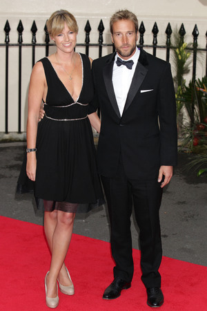 Marina and Ben Fogle  arriving at the inaugural Tusk Conservation Awards at the Royal Society, London.