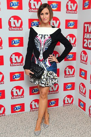 Katherine Kelly arriving for the 2013 TV Choice awards at the Dorchester Hotel, London