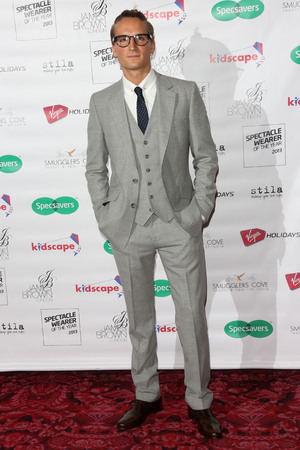 Spectacle Wearer Of The Year Awards, London, Britain - 10 Sep 2013 Oliver Proudlock