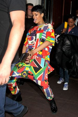 Rihanna out and about, London, Britain - 11 Sep 2013 Rihanna 11 Sep 2013