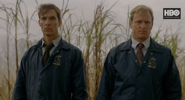 Matthew McConaughey and Woody Harrelson in HBO's 'True Detective'
