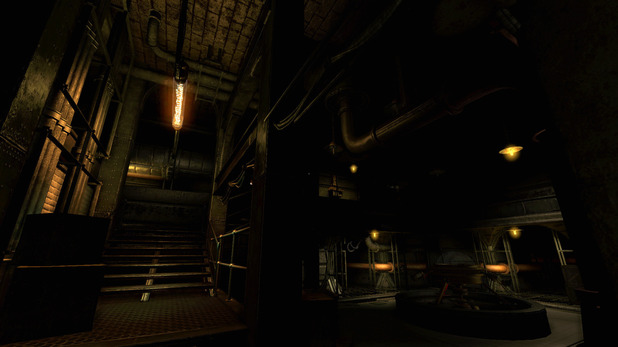 Screenshot from 'Amnesia: A Machine For Pigs'