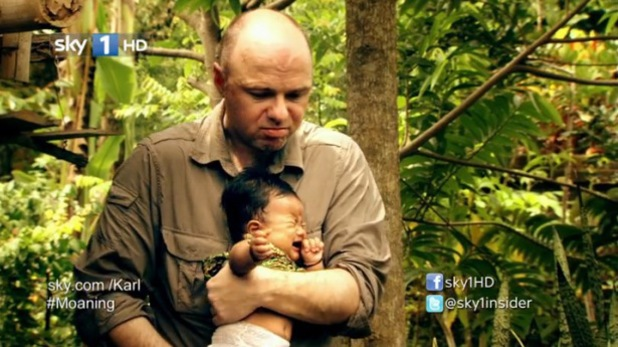 Karl Pilkington in Sky1's 'The Moaning of Life'