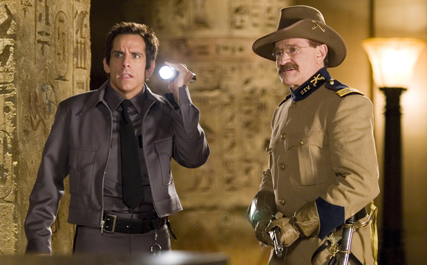 Ben Stiller and Robin Williams in 'Night At The Museum'