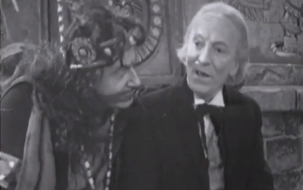 William Hartnell and John Ringham in 'The Aztecs'