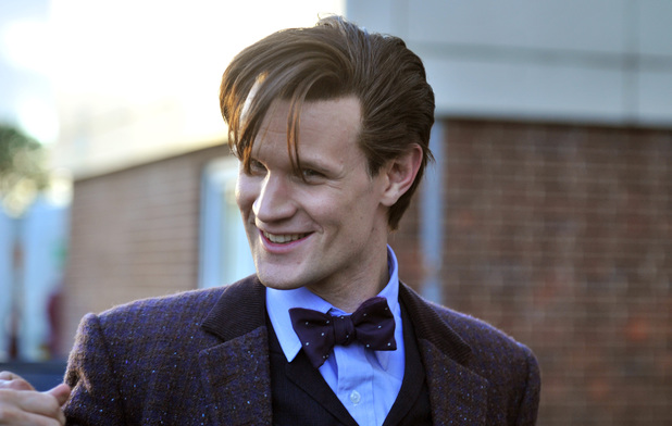 Doctor Who filming in Lydstep Park, Gabalfa, Cardiff, Britain - 10 Sep 2013 Matt Smith 10 Sep 2013