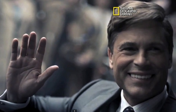 Rob Lowe as JFK in Killing Kennedy