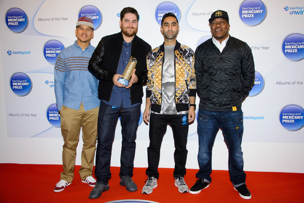 Rudimental at the Barclaycard Mercury Prize Nominations 2013.