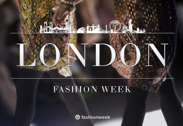 London Fashion Week on Pinterest