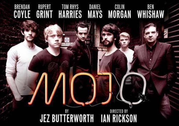 The cast of West End play Mojo.