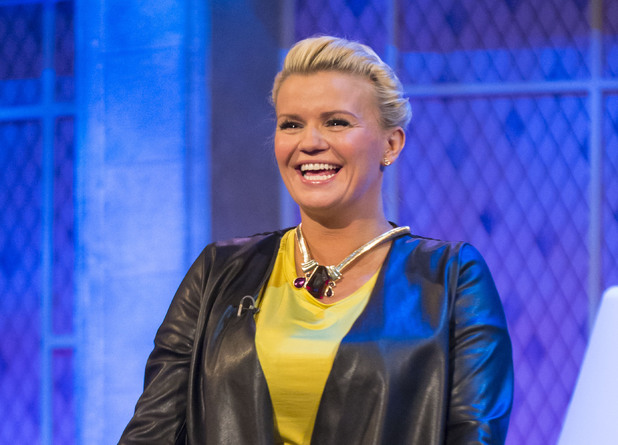 Kerry Katona on 'The Alan Titchmarsh Show'.