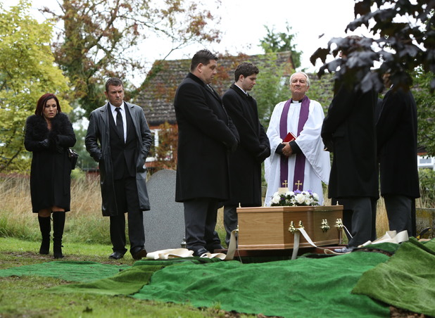 EastEnders: Michael Moon's Funeral