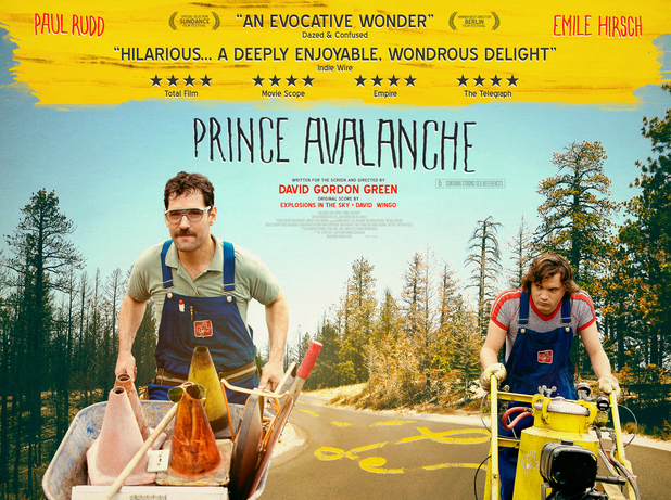 'Prince Avalanche' poster