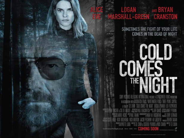 'Cold Comes The Night' UK poster