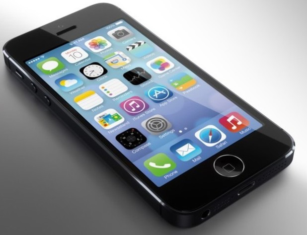 iPhone 5S mock-up