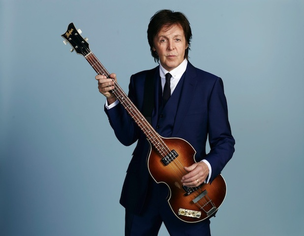 Paul McCartney press shot 2013.