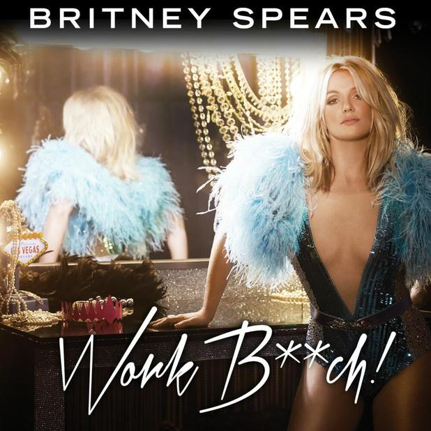 Britney Spears 'Work Bitch' single cover