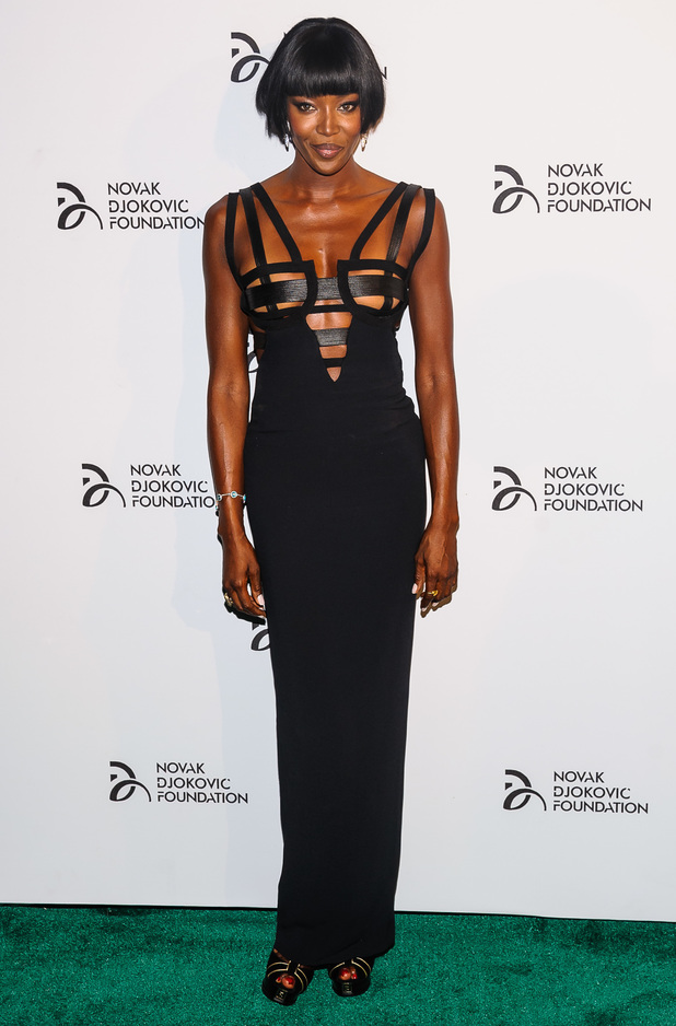 Naomi Campbell 2013 Novak Djokovic Benefit Dinner at Capitale Ballroom
