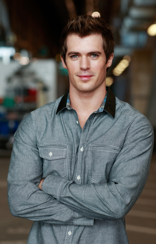 Kyle Pryor as Dr Nate Cooper in Home and Away