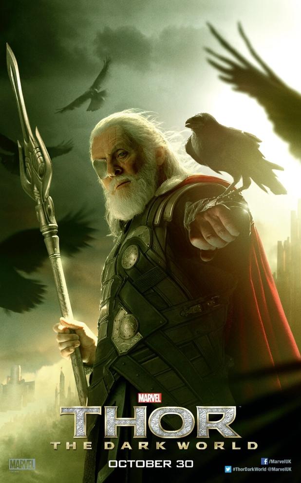 'Thor: The Dark World' Odin poster