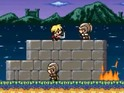 Game of Thrones is reimagined as an 8-bit side-scrolling platforming game.