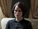 New pictures feature Lady Mary (Michelle Dockery) in mourning.