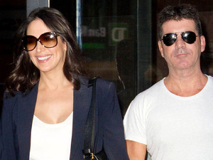 Simon Cowell and Lauren Silverman out and about in New York, America - 19 Sep 2013Lauren Silverman and Simon Cowell 19 Sep 2013Simon Cowell and Lauren Silverman leaving a building in Midtown Manhattan