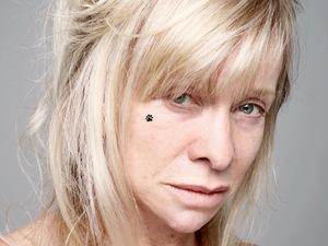 Jo Wood goes BearFaced for BBC Children in Need.