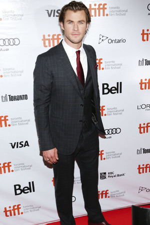 chris hemsworth, Rush premiere, Toronto Film Festival 2013