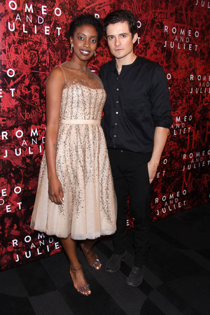 'Romeo & Juliet' play, Opening Night, Broadway, New York, America - 19 Sep 2013 Orlando Bloom, Condola Rashad