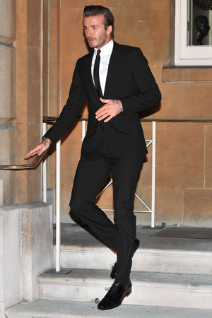An Evening Celebrating The Global Fund held at Apsley House - Departures People: David Beckham