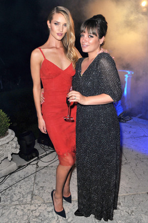 Rosie Huntington-Whiteley and Lily Allen  MARTINI celebrates 150 years of Italian Style at their glittering anniversary gala party at Lake Como in Italy. Picture date: Thursday September 19, 2013