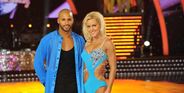 Ricky Whittle and Natalie Lowe 'Strictly Come Dancing Live Tour' Photocall at Nottingham Trent FM Arena Nottingham, England - 14.01.11