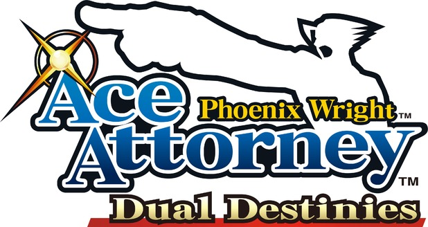 Phoenix Wright: Ace Attorney - Dual Destinies 2013 logo.