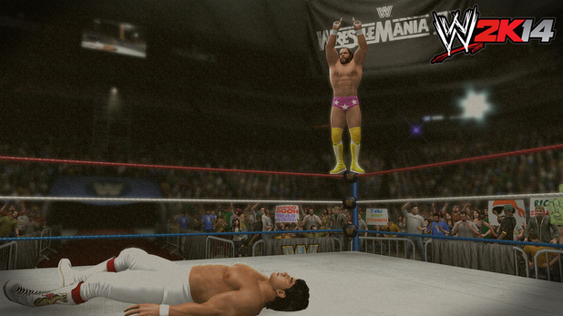 Ricky the Dragon Steamboat vs. Macho Man Randy Savage